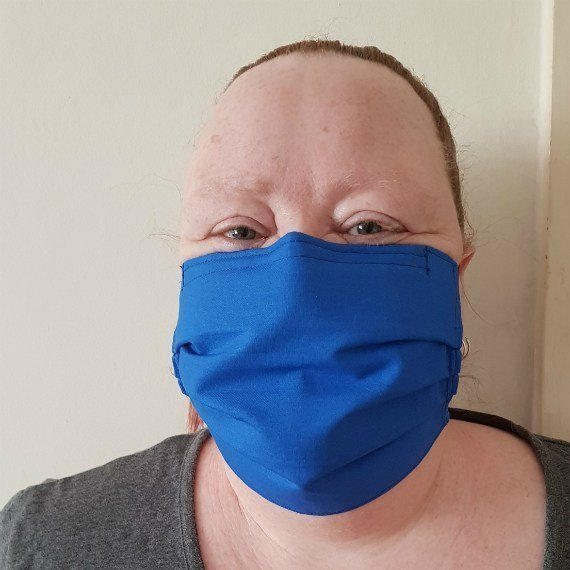 Washable Reusable Adult Fabric Face Covering Face Mask With £1 Donation To Dementia UK Kind Shop