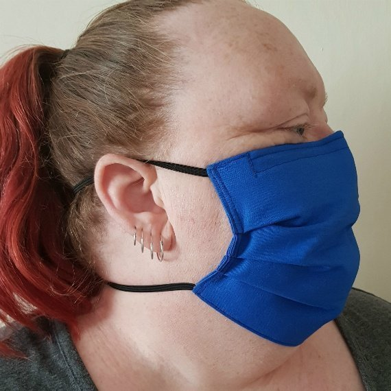 Washable Reusable Adult Fabric Face Covering Face Mask With £1 Donation To Dementia UK Kind Shop 2
