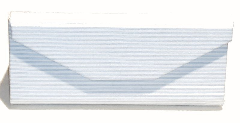 White stripe zero waste glasses case Kind Shop 2