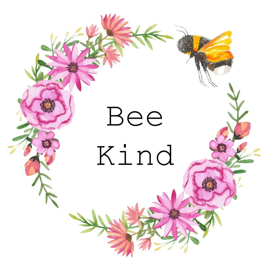 Be Kind Bee Flowers Kindness Top