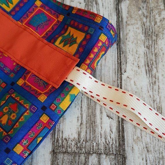 Bright Funky Christmas Print Eco-Friendly Fully Lined Reusable Christmas Gift Bag Kind Shop 7