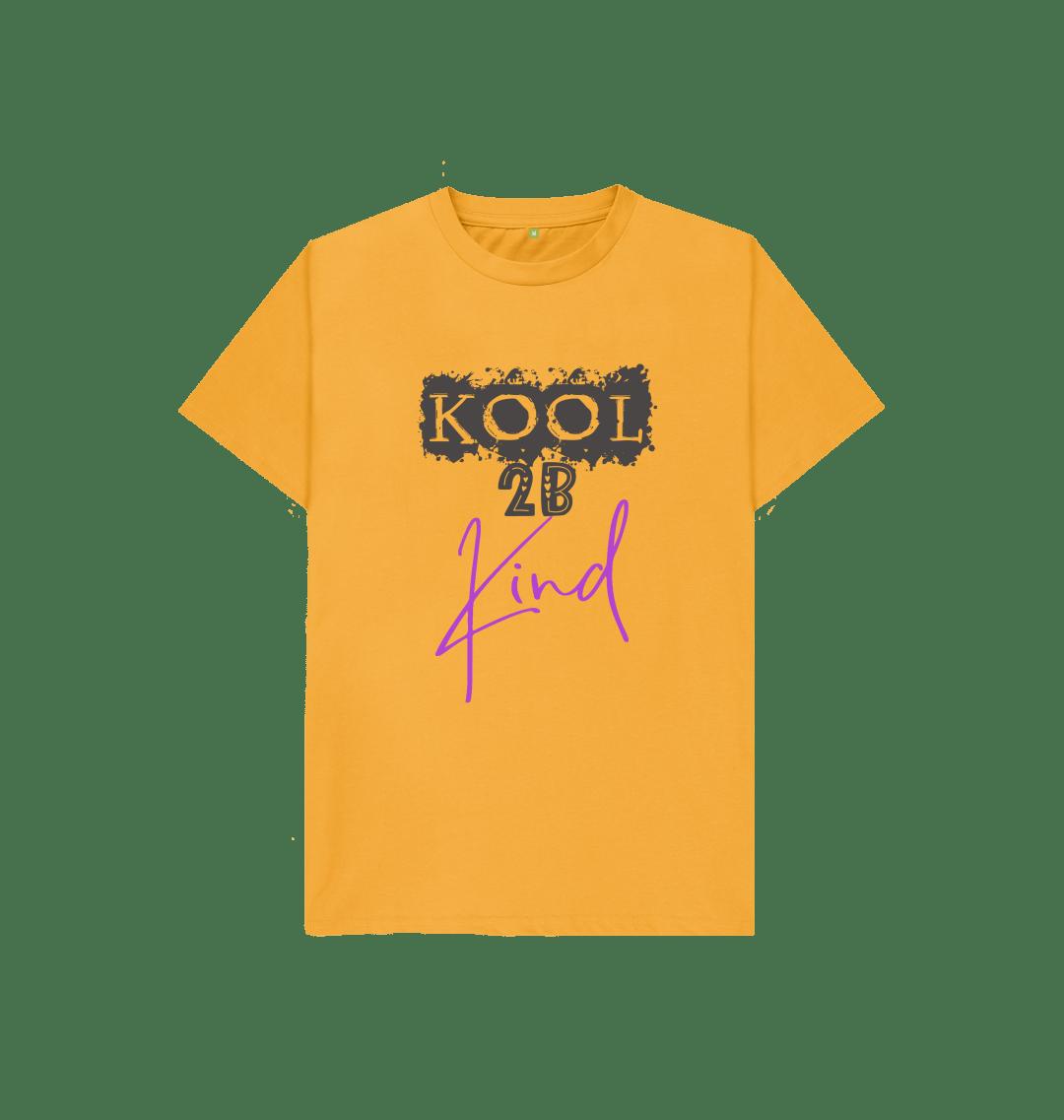 Kool 2B Kind Kids Sustainable Organic Cotton T Shirt (Various colours) Kind Shop 6
