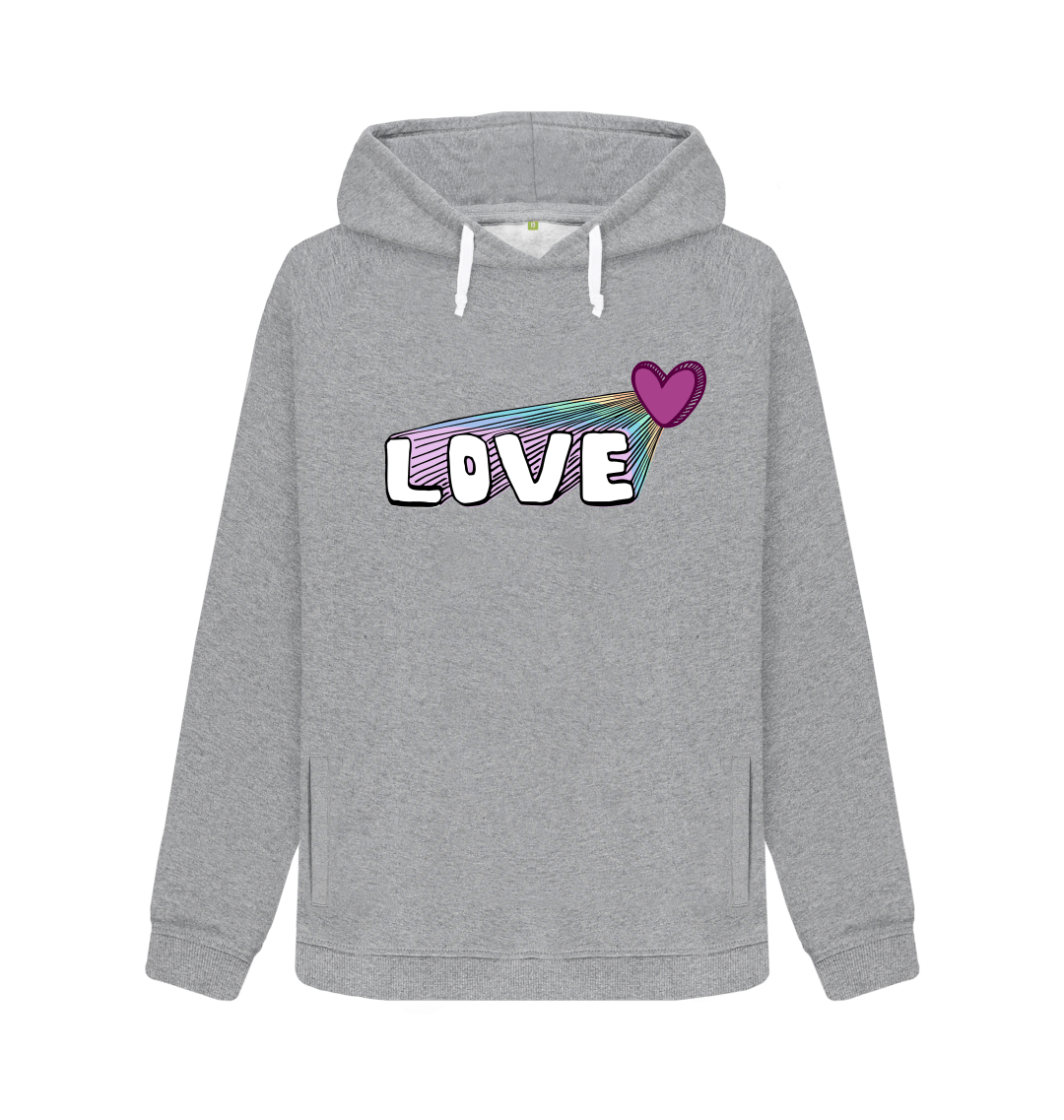 Let Your Love Shine Women's Hoodie Kind Shop 2