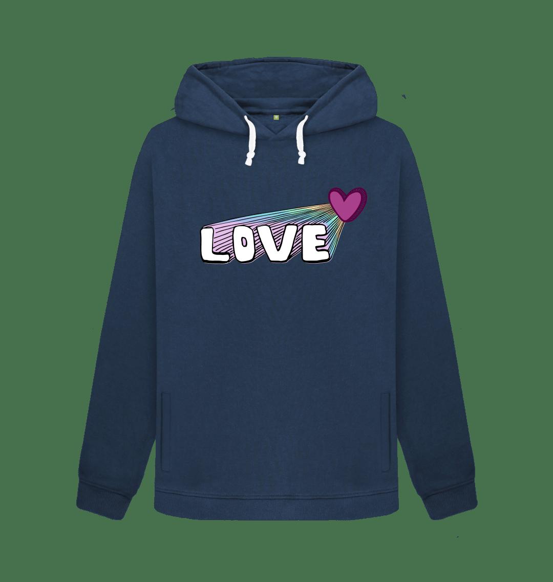 Let Your Love Shine Women's Hoodie Kind Shop