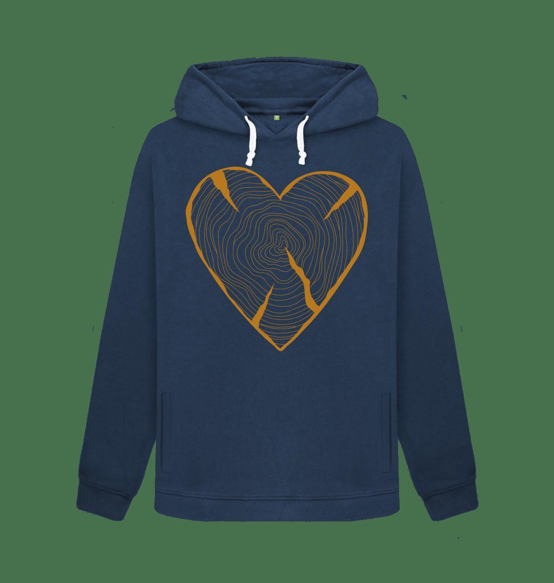 Nature Heart Adventure Women's Hoodie Kind Shop
