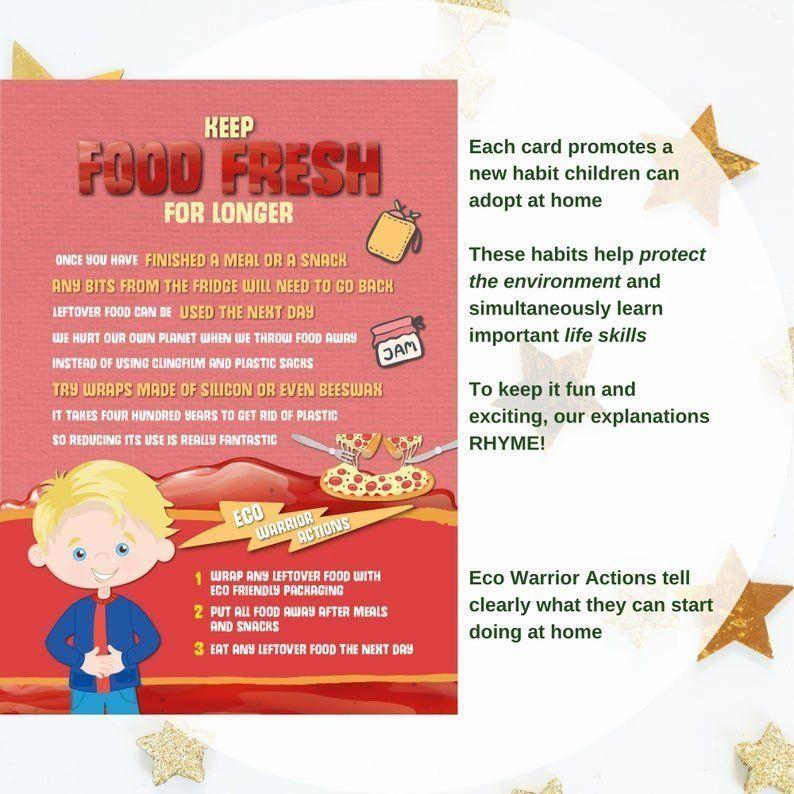 Teach children to Keep food fresh