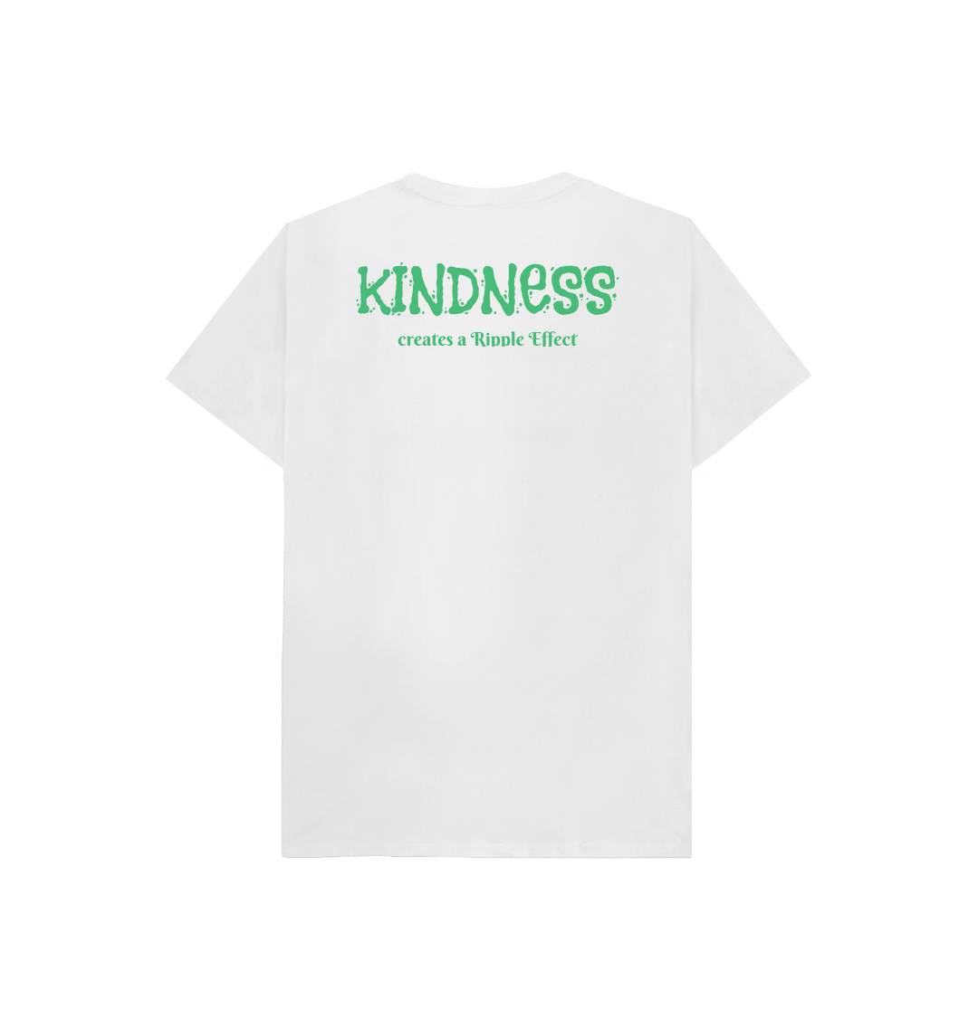The Ripple Effect of Kindness Kids Tee (Various Colours) Kind Shop 14