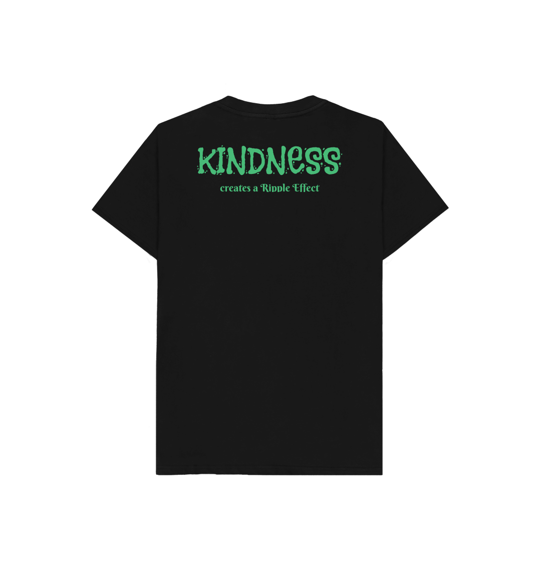 The Ripple Effect of Kindness Kids Tee (Various Colours) Kind Shop 12
