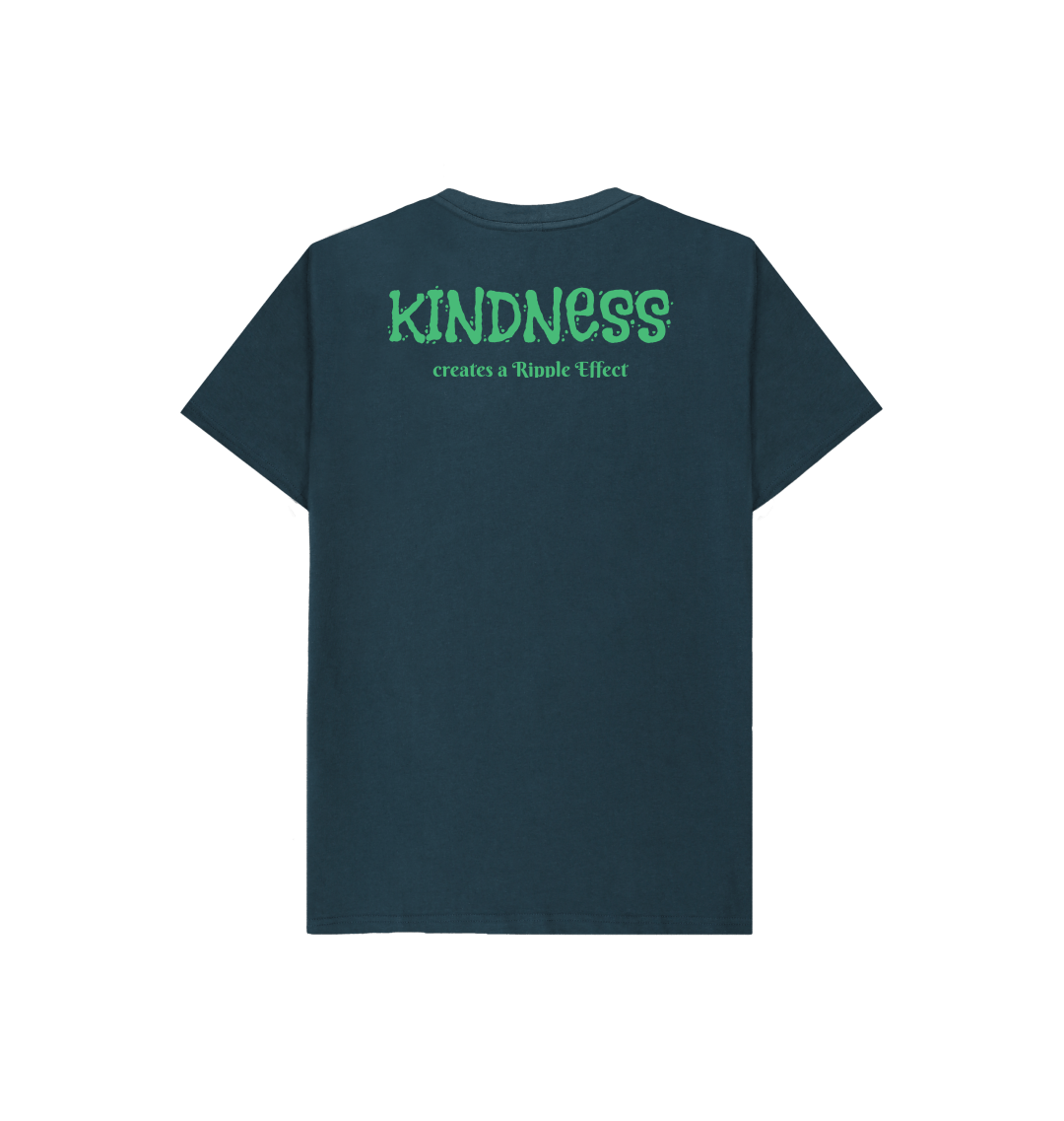 The Ripple Effect of Kindness Kids Tee (Various Colours) Kind Shop 2