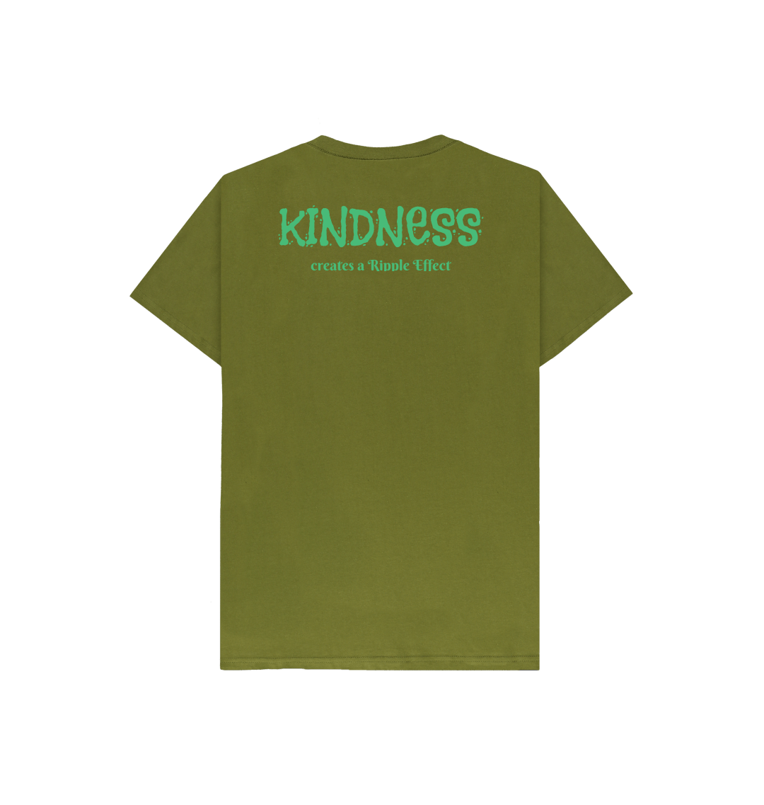 The Ripple Effect of Kindness Kids Tee (Various Colours) Kind Shop 6
