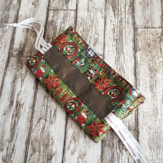 Traditional Christmas Print Eco-Friendly Fully Lined Reusable Christmas Gift Bag Kind Shop 9