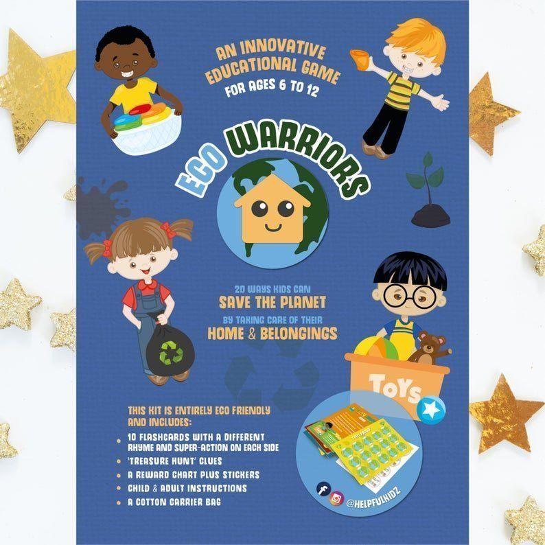 child Eco warrior game leaflet