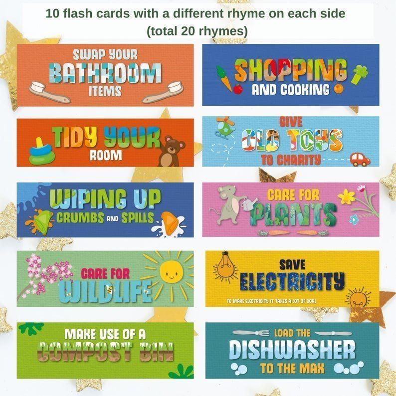 children chores rhymes