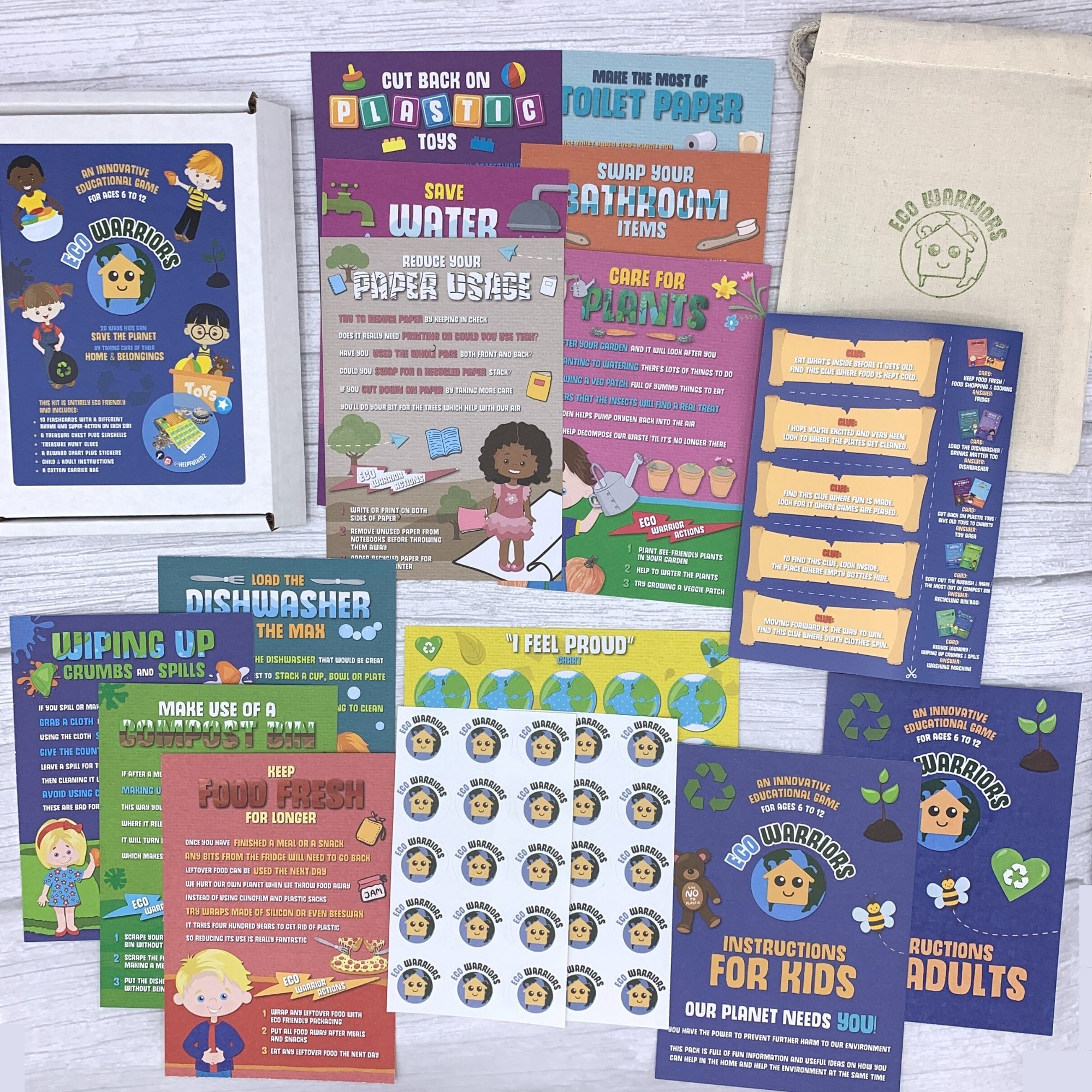 Eco Warriors Children's Card Game - Inspiring Kids To Care For Our Planet