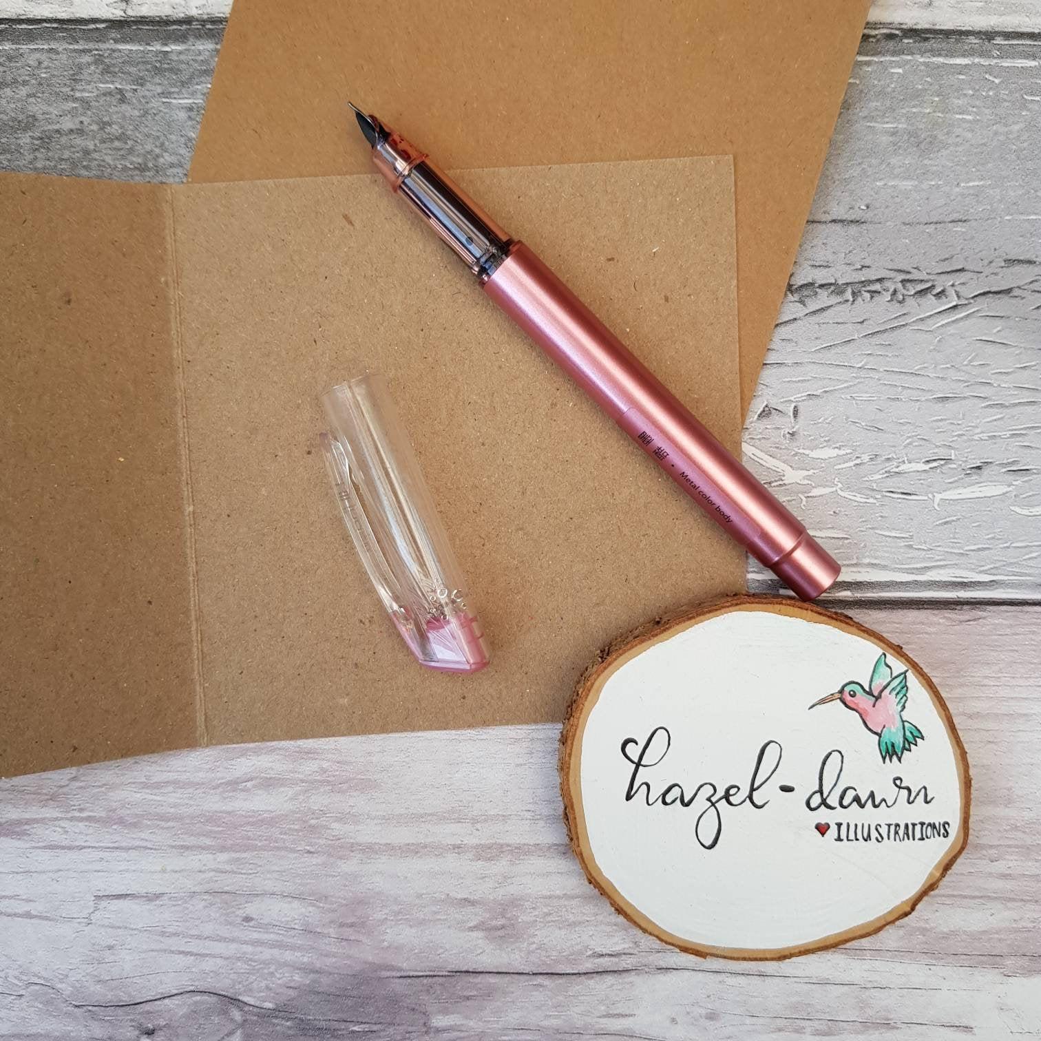 Sending Healing Vibes Card, Blank Card, Friendship, Motivation, Support – Handmade Kind Shop 2