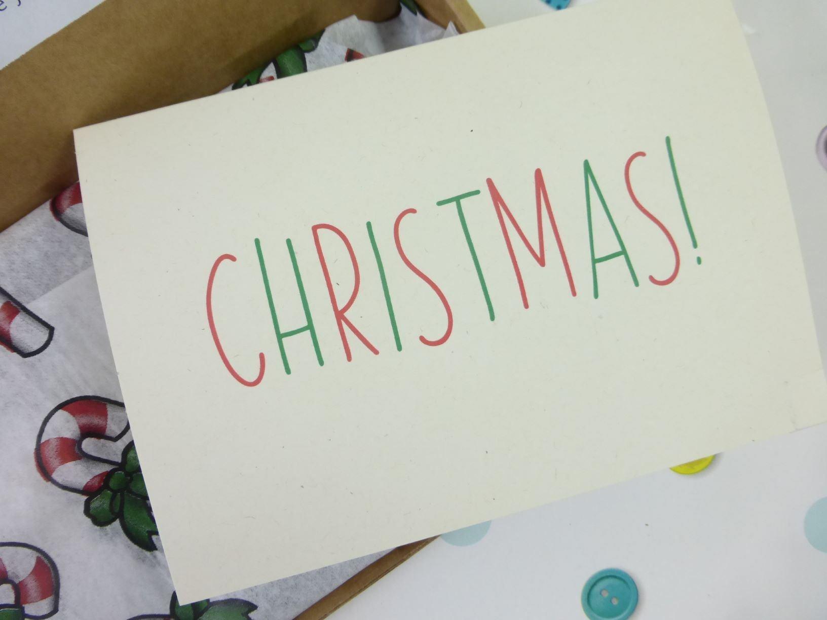 Christmas Stars, Letterbox Friendly, Pick Me Up Gift – The Smile Parcel Mini Kind Shop 3