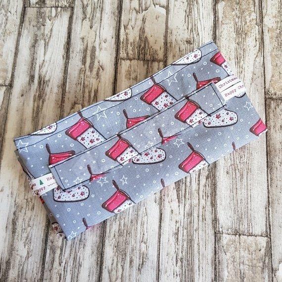 Christmas Stockings Print Eco Friendly Fully Lined Reusable Christmas Gift Bag Kind Shop 9