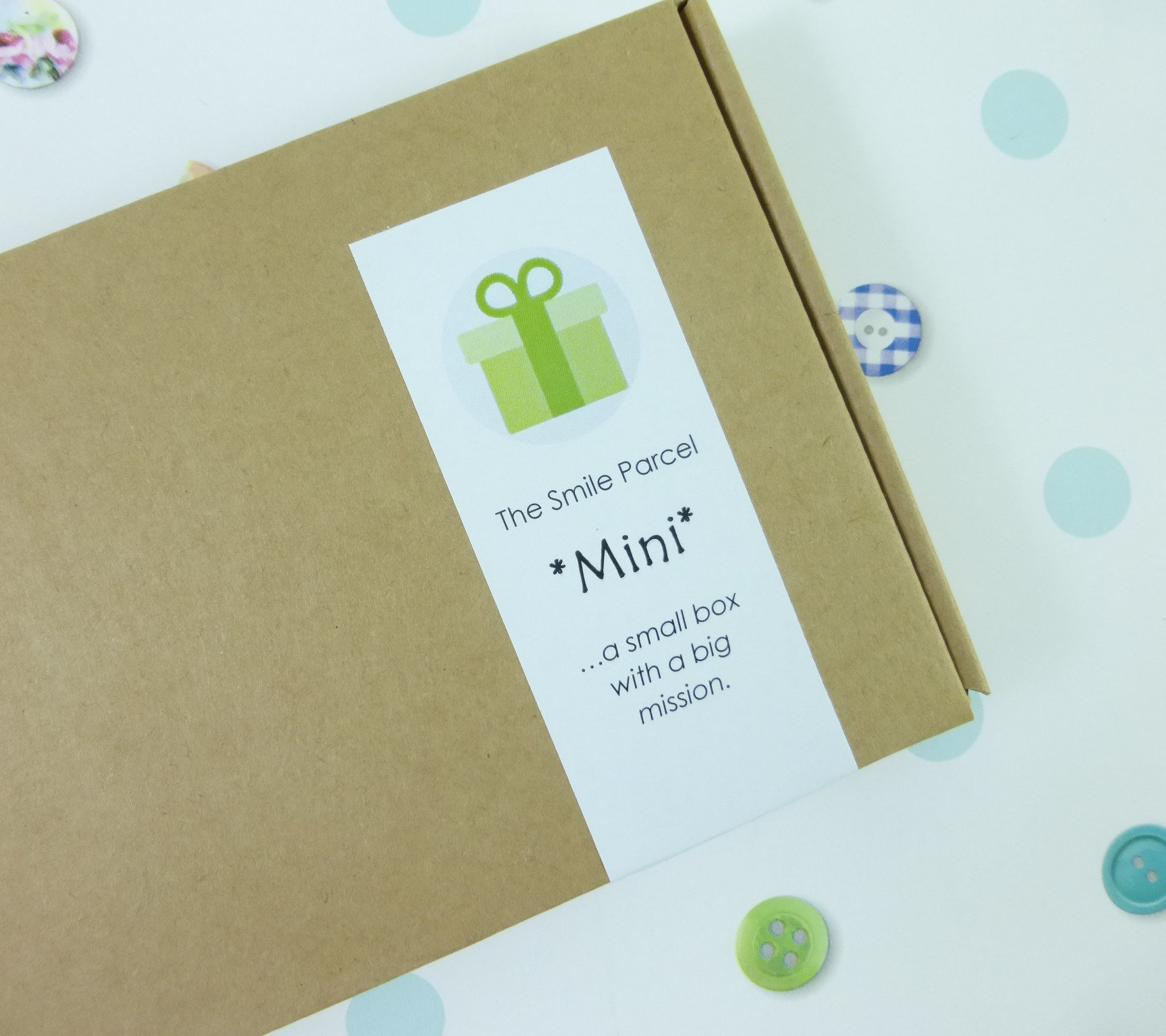 The Smile Parcel Self Care Box Letterbox Friendly Gift