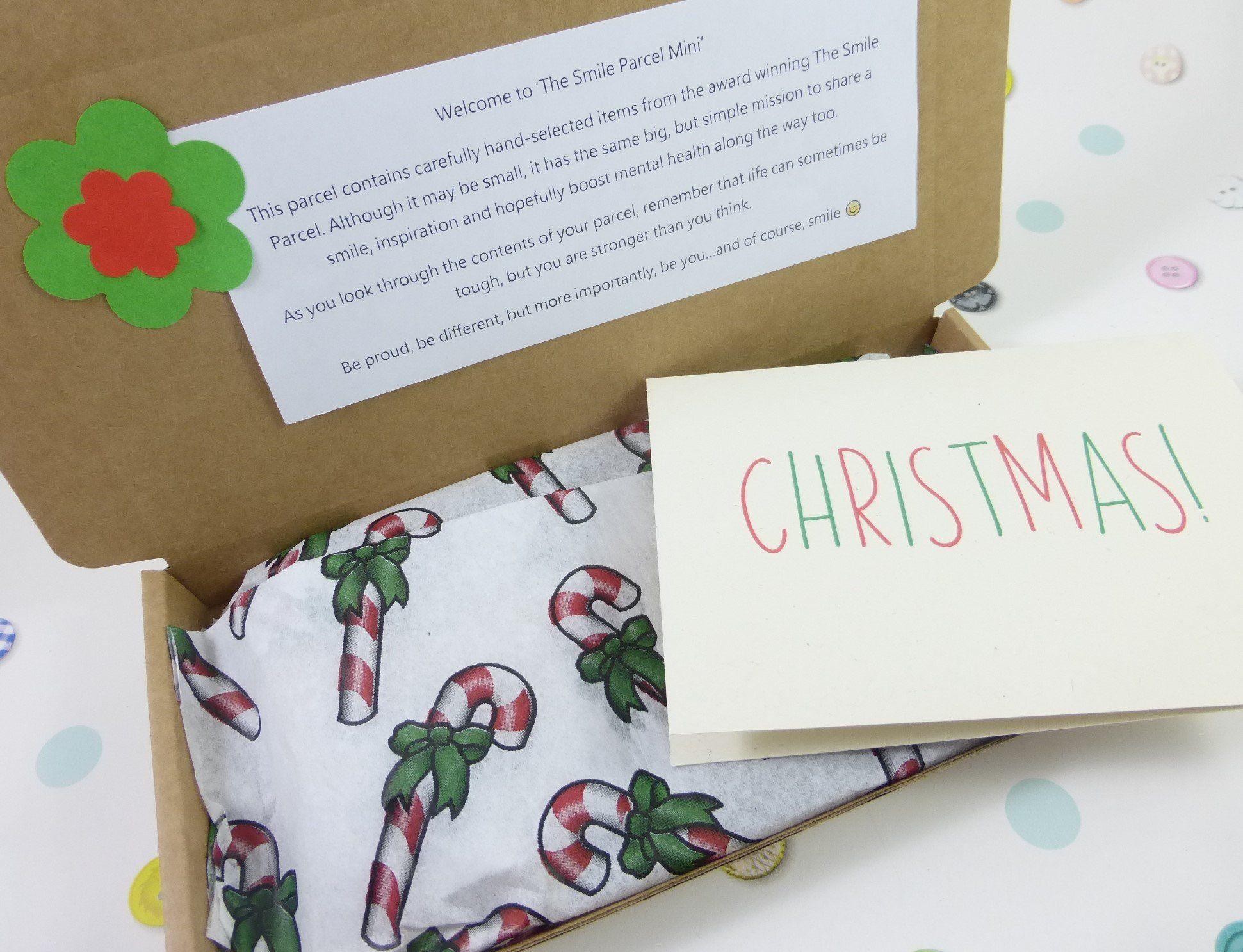 Christmas Stars, Letterbox Friendly, Pick Me Up Gift – The Smile Parcel Mini Kind Shop 2