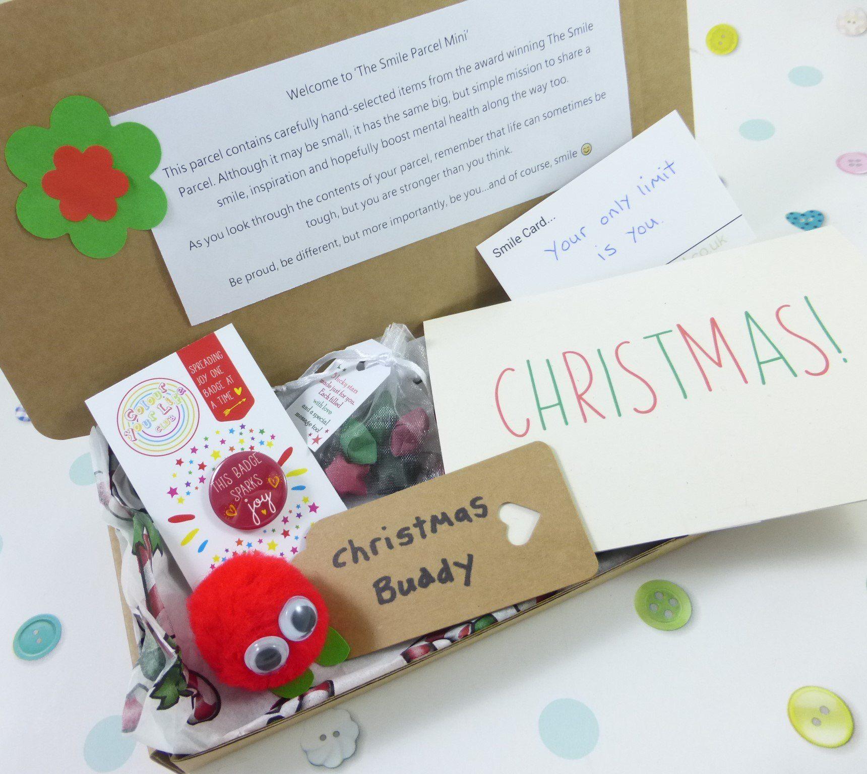 Christmas, Letterbox Friendly, Pick Me Up Gift – The Smile Parcel Mini Kind Shop