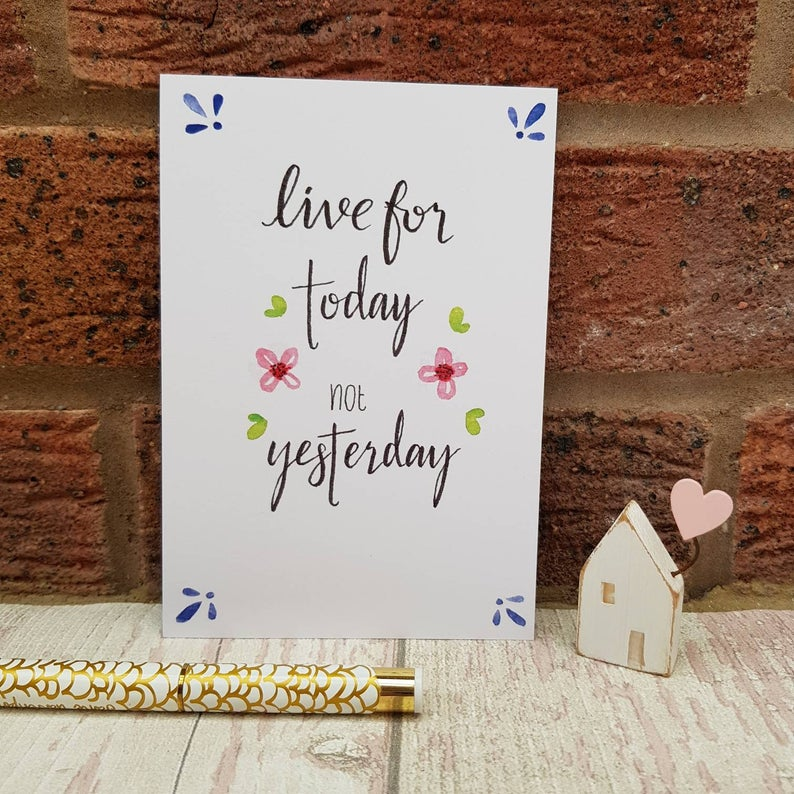 Positivity Postcards Set live for today not yesterday