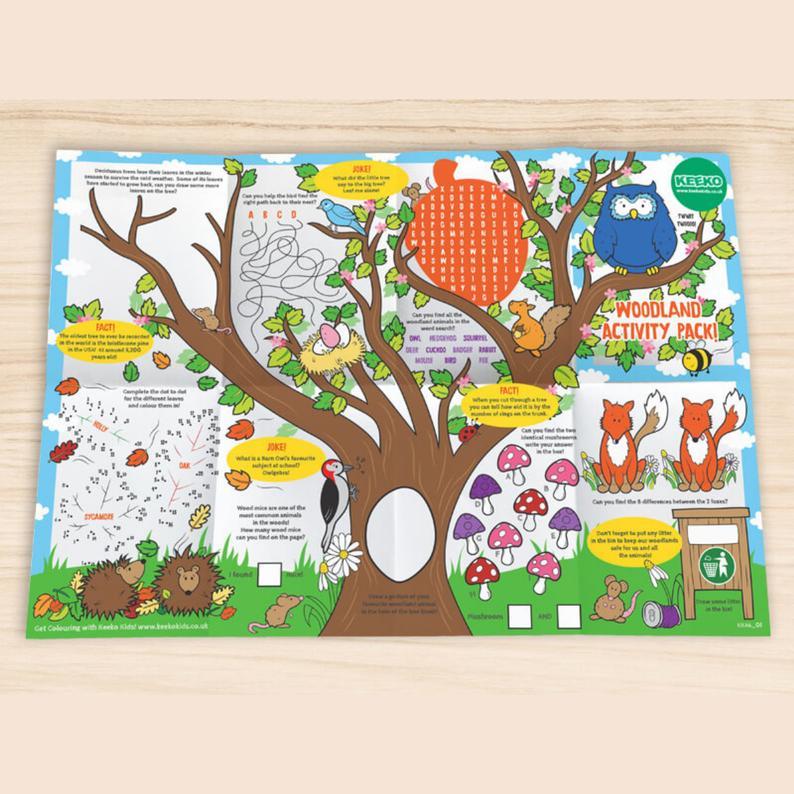Storytelling game activity sheet children
