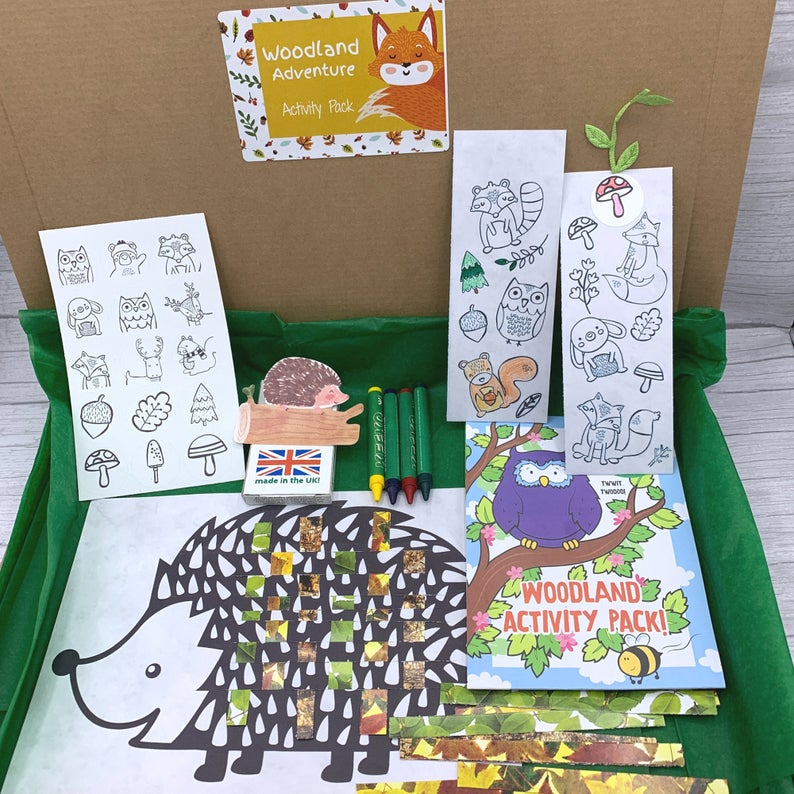 activity packs for kids eco
