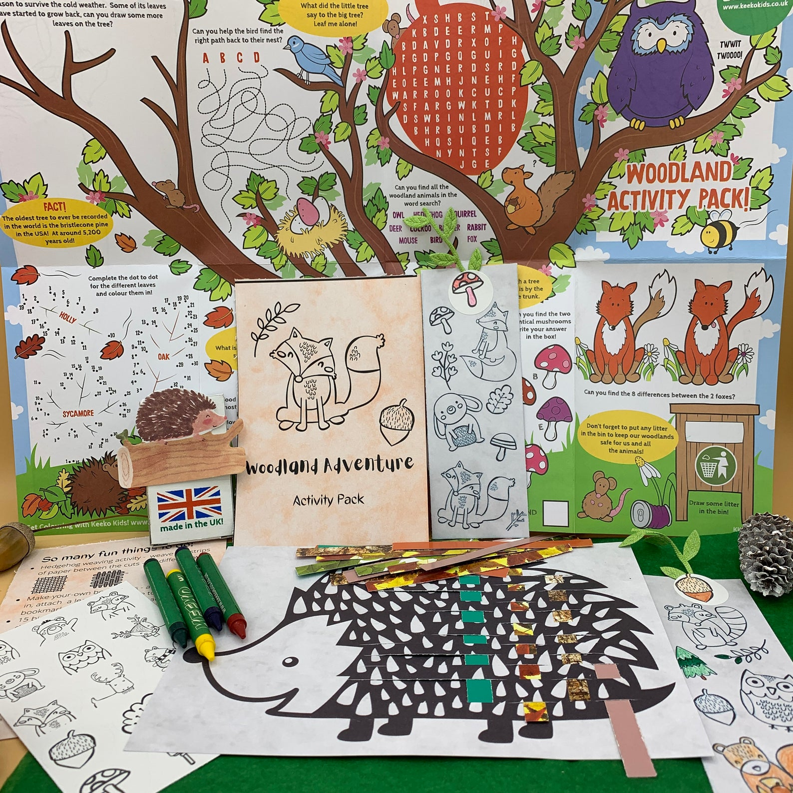 activity packs for kids nature