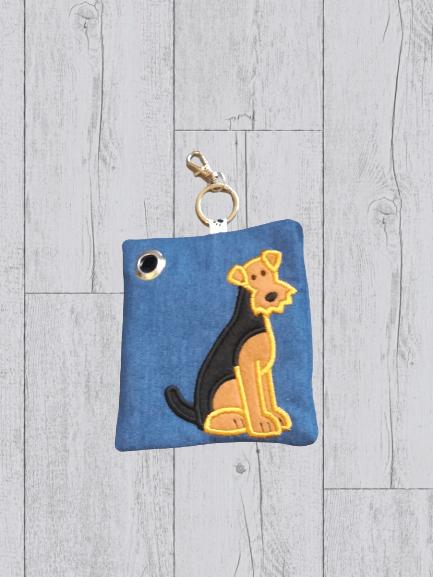 Airedale Eco Plastic Free Dog Poo Bag Holder Kind Shop