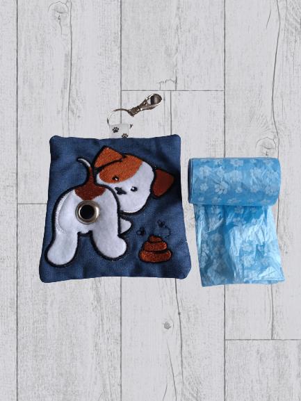 Cute Eco Plastic Free Dog Poo Bag Holder – Brown & White Kind Shop