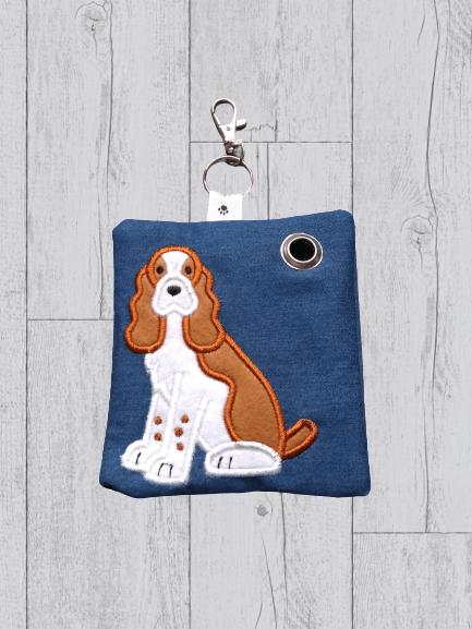 English Springer Spaniel Eco Plastic Free Dog Poo Bag Holder Kind Shop