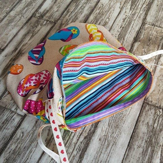 Flip Flops Eco-Friendly Reusable Drawstring Gift Bag Storage Bag Kind Shop 7