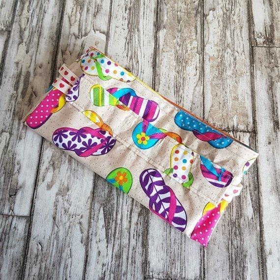 Flip Flops Eco-Friendly Reusable Drawstring Gift Bag Storage Bag Kind Shop 8