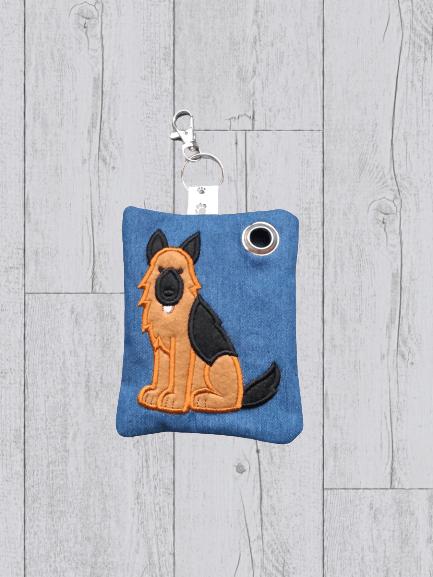 German Dog Eco Plastic Free Dog Poo Bag Holder – Brown & Black Kind Shop