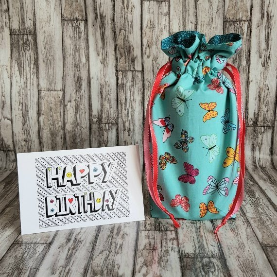 Butterfly Eco-Friendly Reusable Gift Wrap