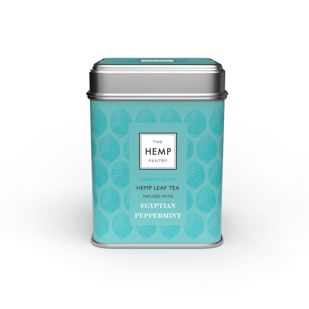 ORGANIC HEMP & MINT TEA (50g) Loose Leaf Kind Shop