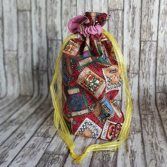 Honey Bears Eco-Friendly Reusable Drawstring Gift Bag Storage Bag Kind Shop
