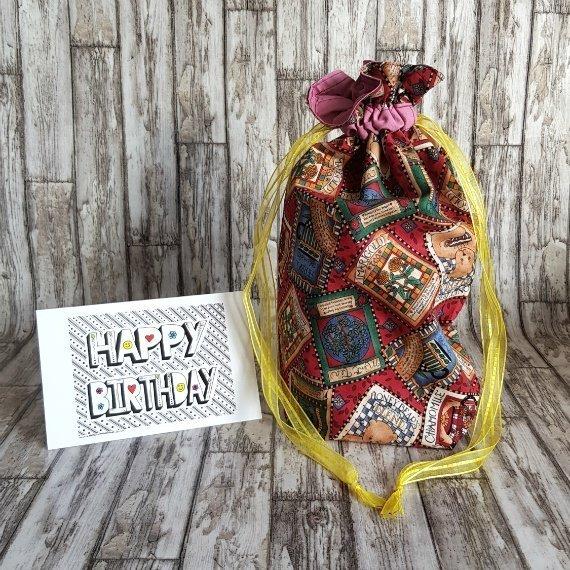 Honey Bears Eco-Friendly Reusable Drawstring Gift Bag Storage Bag Kind Shop 2