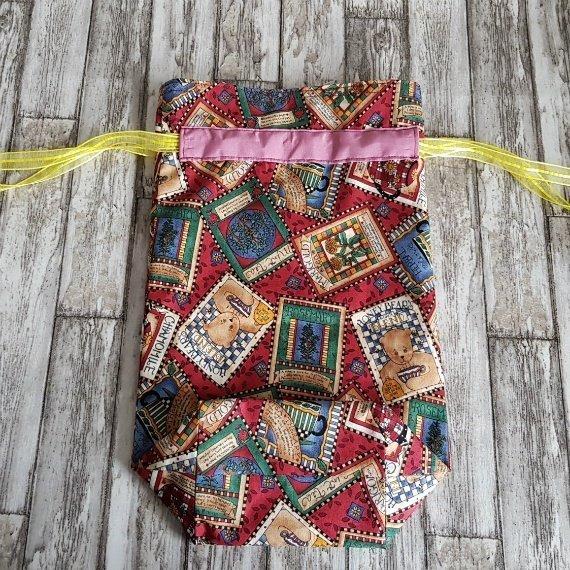 Honey Bears Eco-Friendly Reusable Drawstring Gift Bag Storage Bag Kind Shop 5