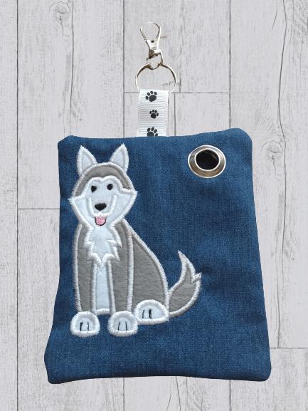 Husky Eco Plastic Free Dog Poo Bag Holder Kind Shop 2