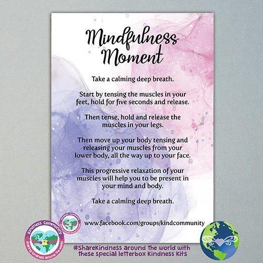 Mindfulness moment progressive relaxation kindpreneurs