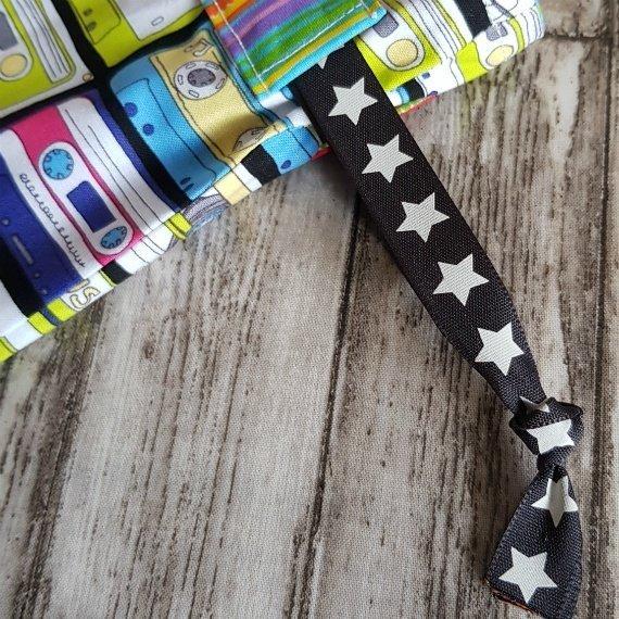 Music Cassettes Eco-Friendly Reusable Drawstring Gift Bag Or Storage Bag Kind Shop 6