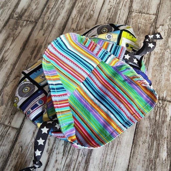 Music Cassettes Eco-Friendly Reusable Drawstring Gift Bag Or Storage Bag Kind Shop 7