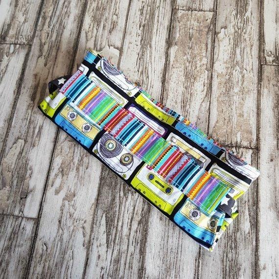 Music Cassettes Eco-Friendly Reusable Drawstring Gift Bag Or Storage Bag Kind Shop 8