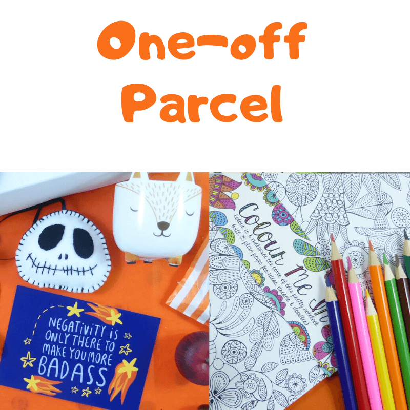 Monthly Surprise, One-Off Purchase, The Smile Parcel Plus Subscription Box, Self Care Box, Mental Health Gift Kind Shop