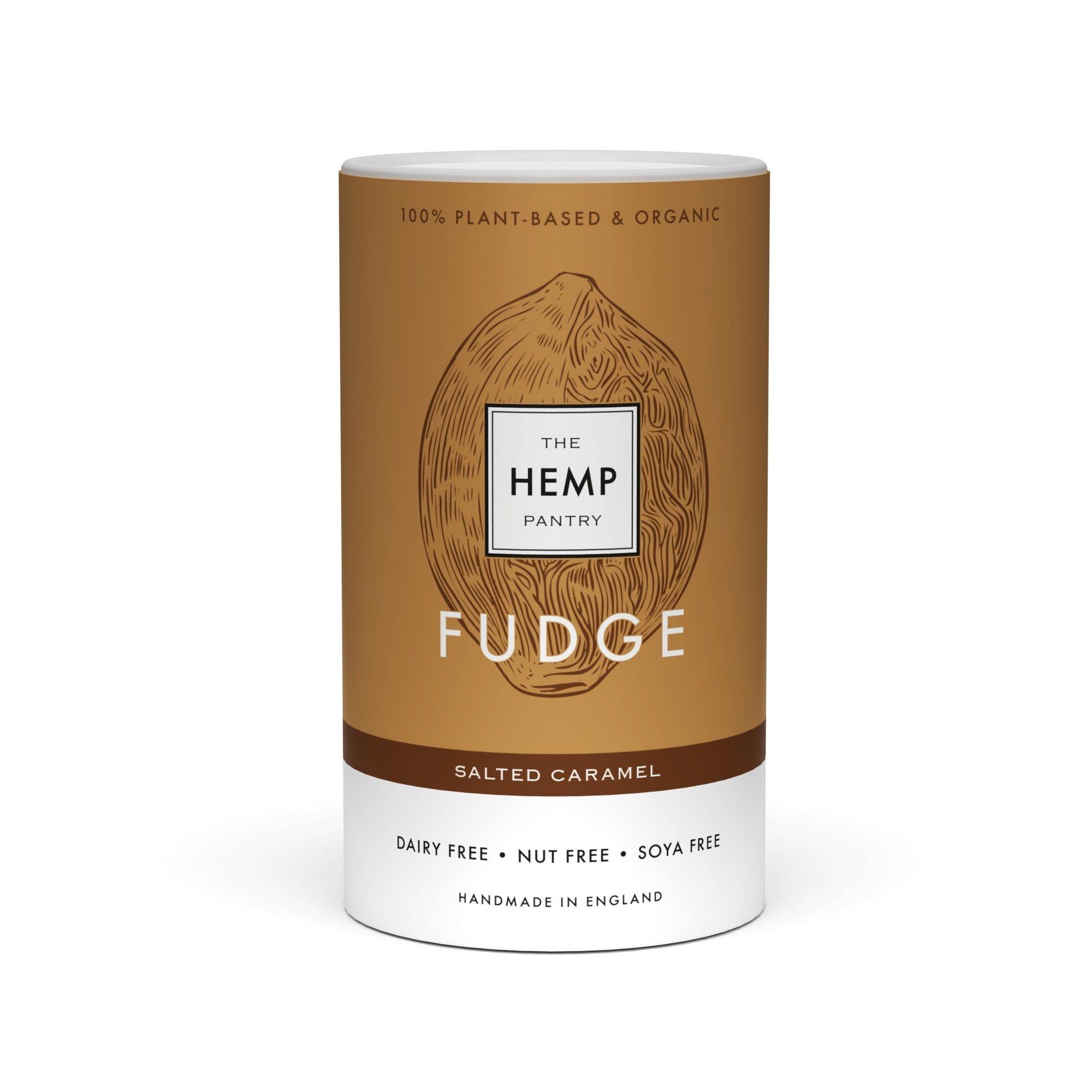 Organic Vegan Salted Caramel Fudge 175g Kind Shop
