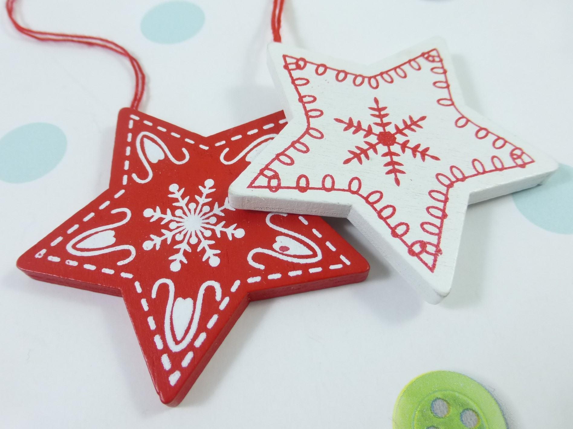 Christmas Stars, Letterbox Friendly, Pick Me Up Gift – The Smile Parcel Mini Kind Shop 4