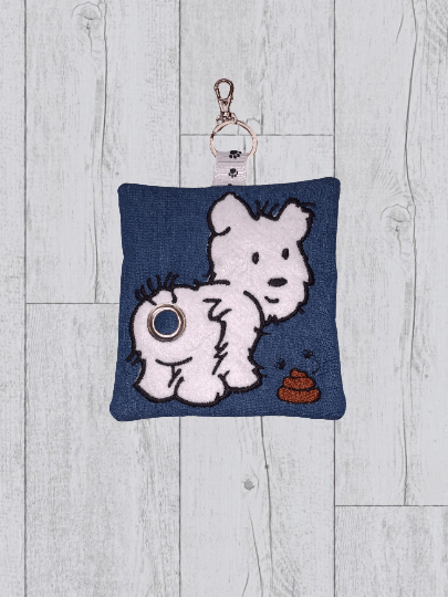 Eco Plastic Free Dog Poo Bag Holder – White Kind Shop