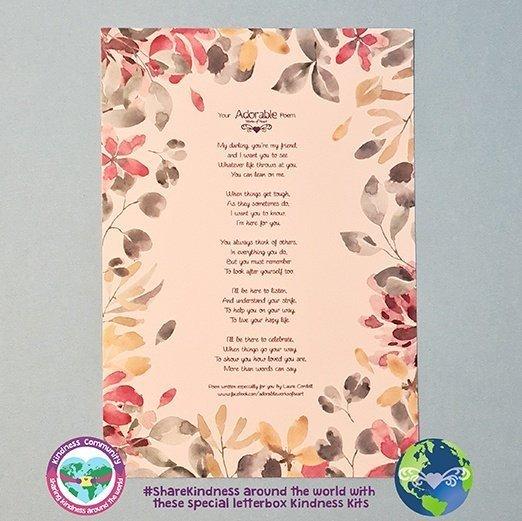 Poem for a friemd kindpreneurs