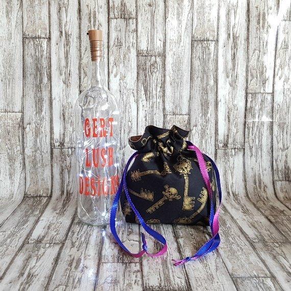 Skull Keys Eco-Friendly Reusable Drawstring Gift Bag Storage Bag Kind Shop 3